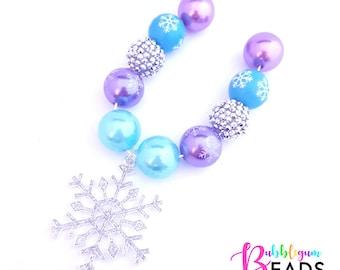 Bubblegum Bling – Frozen Snowflake