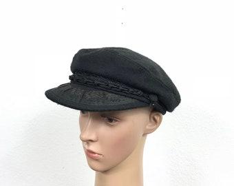 70's euro vintage wool fisherman hat made inmgreece size 7