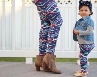 Mommy and me leggings, mommy and me outfits,mom and daughter pants, mom and daughter,mom and baby,mommy and mini,twining clothes, cotton