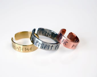 Made to Order Rune Ring