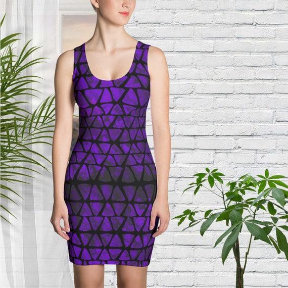 Kleid in Ultraviolett Kleidung Brautjungfer Sommer Kleid