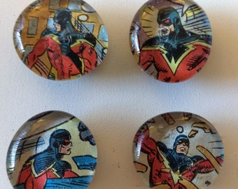 Captain Marvel Magnets