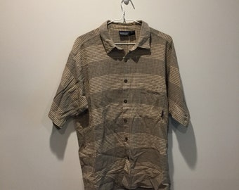 Patagonia Organic Cotton short sleeve Button Up Polo