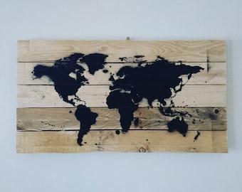 Pallet world print