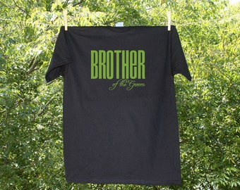 Brother of the Groom Classic Droid Wedding Party Shirt