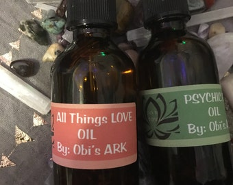 All Things Love oil