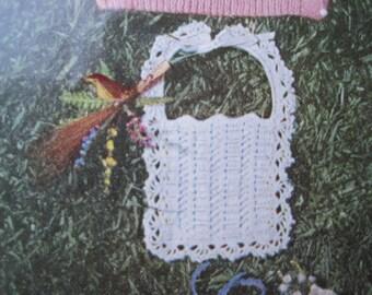Crochet Pattern - Baby Bib