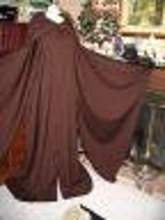 Star Wars Jedi Master Mace Windu 100% wool flannel robe in 5 sizes