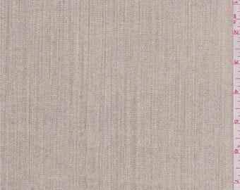 Gold Foil Stretch Twill, Fabric By The Yard