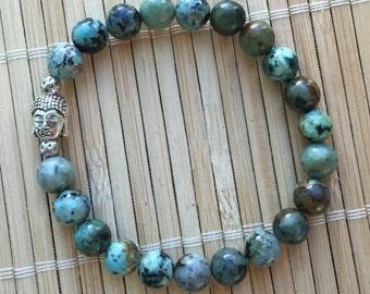 Buddha Energy Bracelet Wrist Mala Healing Jewelry Man or Woman Yoga Meditation Unisex Bracelet
