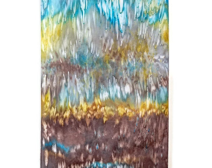 Abstract Tapestry-Modern Rustic Art-Wall Hanging-Boho Decor-Modern Art-Southwest Decor-Home Decor Gifts-Gift for Him-Watercolor Home Decor