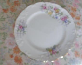 Vintage collingwoods tea plate one only trellis rose design 1930 40's vgc