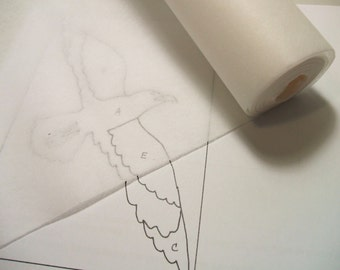 1 Roll Swedish Sewable Sewing Tracing Pattern Paper 29 inch x 10 yards