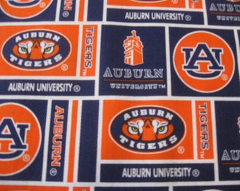 Auburn University Cotton FABRIC Sold by the YARD Newest Design  097