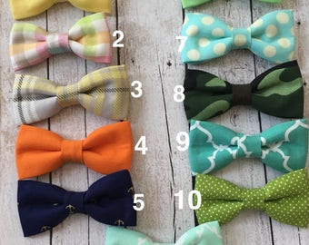 clearance bow ties..toddler bow ties..clip on bow ties..boy bow ties