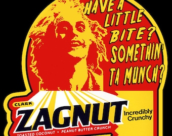 "80's Tim Burton Classic Beetlejuice ""Zagnut"" custom tee Any Size Any Color"
