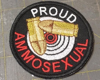 2nd Amendment Gun or Ammosexual Patch
