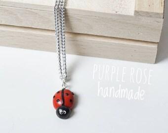 Fimo Ladybug Charm Ladybird