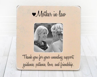 Mother in Law gift, Mother In Law frame, Mother In Law Picture Frame, Mothers Day Gift for Mother In law Parents of Groom