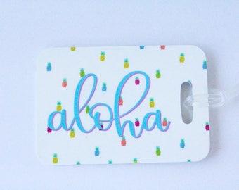 Aloha Luggage Tag