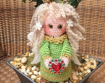 Crochet amigurumi angel crochet miniature angel plushes Christmas angel children toy decoration angel ornament holiday accessory décor #10
