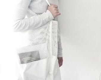 canvas net bag