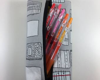 Notebook pencil pouch