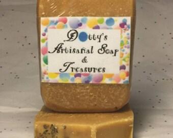 Lemongrass, Ginger, & Honey Goat Milk Cold Process Soap Bar