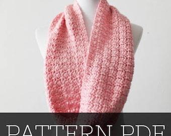 PATTERN for the Simple Crochet Scarf | Crochet Scarf | Crochet Pattern | Scarf Pattern | Crochet | YarnHookNeedles