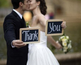 Mini Chalk board - Rustic Wedding Shabby Chic Wedding Decor Photo Prop