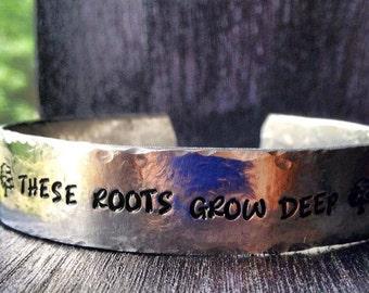 Personalized Bracelet,  Engraved Bracelet, Custom Bracelet, Wide cuff, Gypsy, Hippie