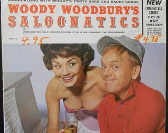 Woody Woodburys Saloonatics - vinyl record