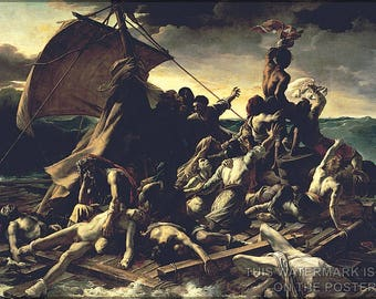 Poster, Many Sizes Available; Raft Of The Medusa, C. 1820 Theodore Gericault'S - Copy