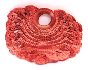 Vintage 1940 Hand Crocheted Coin Purse Vintage Wallet Coin Purse Women's Wallet Gift For Her