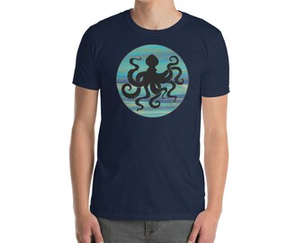 Octopus. Ocean Animal T-Shirt