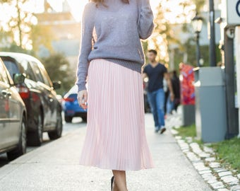 Gray knit sweater | Loose sweater | Wool sweater women | Womens sweater | Knit sweater | Mohair sweater | Winter sweater | Vintage sweater |
