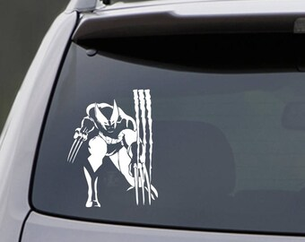 Wolverine Car Decal