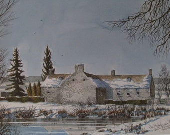 Canadian Ben Babelowsky Collection The Pinhey's Point Prints set of Four