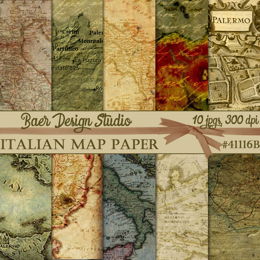 Map digital paperitalian map digital paper sicilian map digital map digital paperitalian map digital paper sicilian map digital paper vintage map digital paper map of italy high res digital map gumiabroncs Image collections