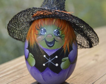 Halloween Witch Egg