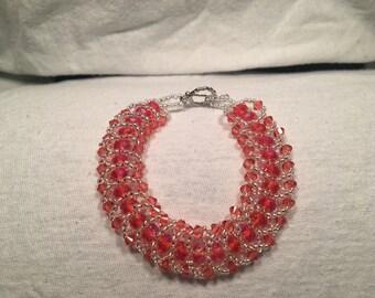 Flat Spiral Beaded Bracelets