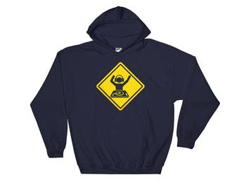 Caution: Rockin' Out  (Hoodie)