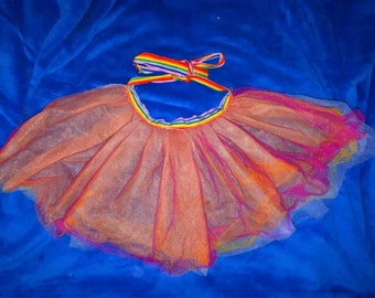 Little hippie festival apron wrap skirt!