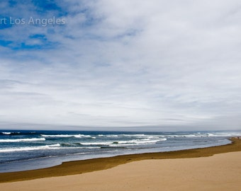 "Neil Reichline Photo, ""Coquille State Beach, Oregon"", 16x20"" on 17x22"", Limited Edition, signed"