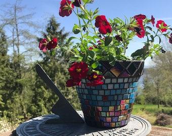 Variegated Mosaic Planter