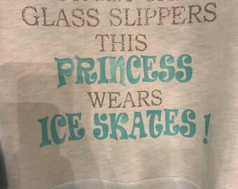 Ice skate hoodie