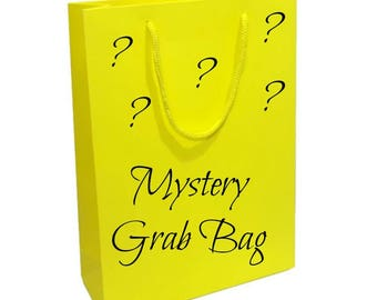 Mystery Grab Bag - Random Assortment of Hair Bows, Headbands, Hair Clips, Clippies, Ribbon Sculptures - You Choose Bag Value - Gift - Girls