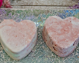Lavender and Rose Salt Soap