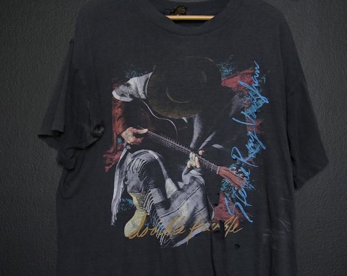 Steve Ray Vaughn In Step Tour 1989 Vintage Tshirt