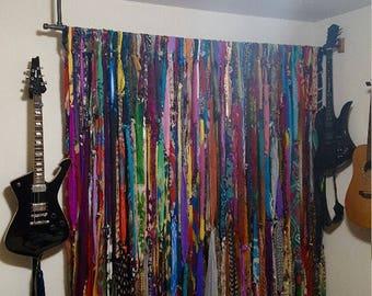 Bohemian curtains!